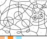 Coloring pages Magic Ladybug
