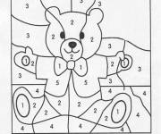 Coloring pages Magic numbers Easy to color