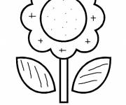Coloring pages Magic Stylized Flower