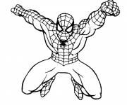 Coloring pages Spiderman Easy to download