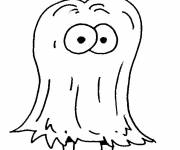 Coloring pages Bizarre creature in color