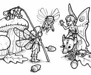 Coloring pages Fantastic Creatures in Color