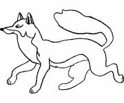 Coloring pages Fantastic Fox