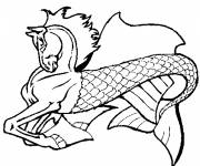 Coloring pages Fantastic imaginary animal
