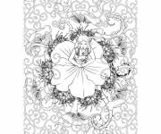 Coloring pages Fantastic Woman