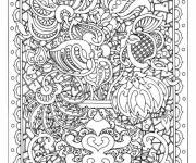 Coloring pages Adult Difficult