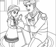 Coloring pages Frozen for children