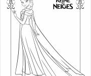 Coloring pages Frozen to cut