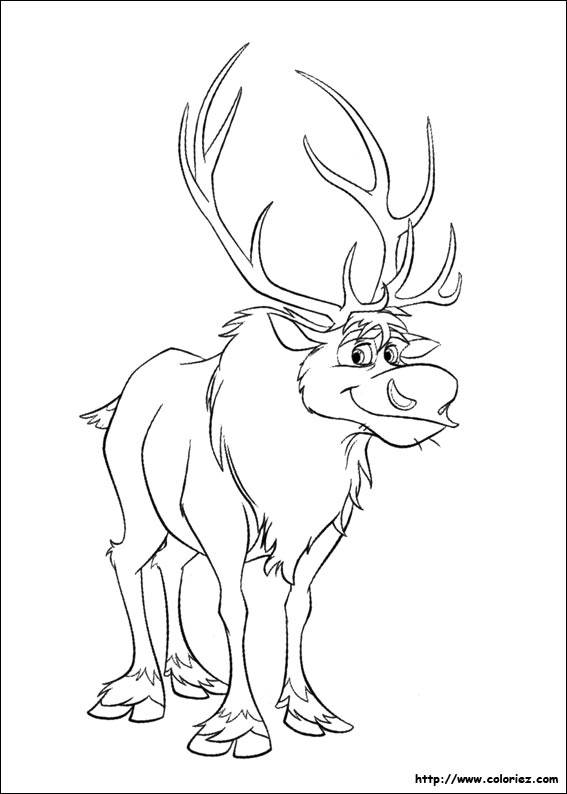 Free coloring and drawings Sven Cref in color Coloring page