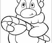Coloring pages Funny vector penguin