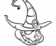Coloring pages Evil Halloween Pumpkin