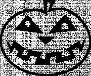Coloring pages Halloween pumpkin easy