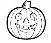Free coloring and drawings Pumpkin for Halloween Coloring page