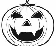 Coloring pages Vampire halloween pumpkin