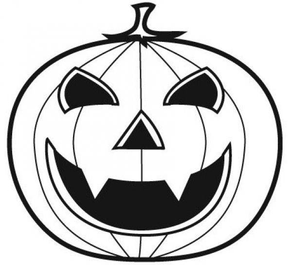 Free coloring and drawings Vampire halloween pumpkin Coloring page