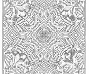 Coloring pages Color mandala for adults