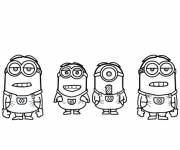 Coloring pages Humorous Minions Movie