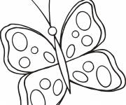 Coloring pages Butterfly to print and cut