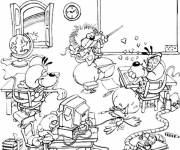 Coloring pages A funny humorous class