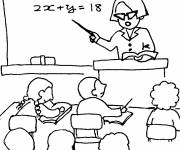 Free coloring and drawings Color Kindergarten Coloring page