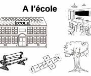 Free coloring and drawings Primary school Coloring page