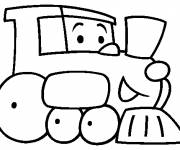 Coloring pages A Kindergarten
