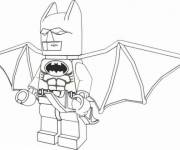 Coloring pages Lego Batman in color