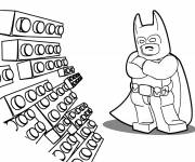 Free coloring and drawings Lego Batman kindergarten Coloring page