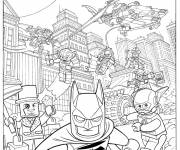 Free coloring and drawings Lego Batman movie Coloring page