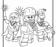 Coloring pages Lego City Characters for kids