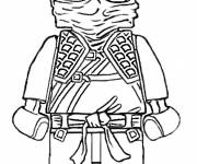 Coloring pages Lego Ninjago in black and white
