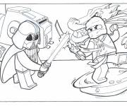 Coloring pages Lego Ninjago in color
