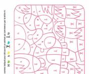 Coloring pages Magic Letter H