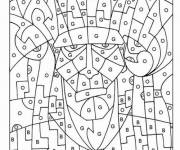 Coloring pages Magic Letters large section