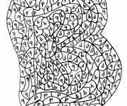 Coloring pages Magic Letters medium section