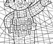 Coloring pages Addition magic handyman