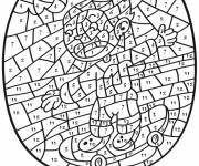 Coloring pages Magic Addition Skateboarder