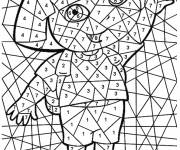Coloring pages Magic Dora Easy