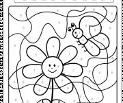 Coloring pages Magic flower