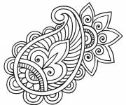 Coloring pages Mandala flowers for coloring