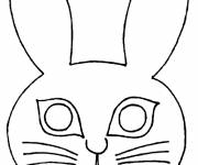 Coloring pages Animal coloring mask