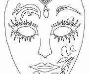 Coloring pages Color mask