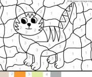 Coloring pages Easy Magic A cat