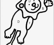 Coloring pages Magic Letters The Lion