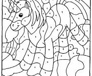 Coloring pages Magical Kindergarten Unicorn