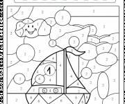 Coloring pages Medium section magic