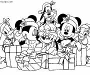 Coloring pages Disney Christmas Little Ones