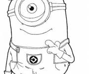 Coloring pages Hate Minion Rush Me