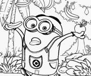 Coloring pages Minion Rush Maternal