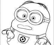 Coloring pages Nice Minion